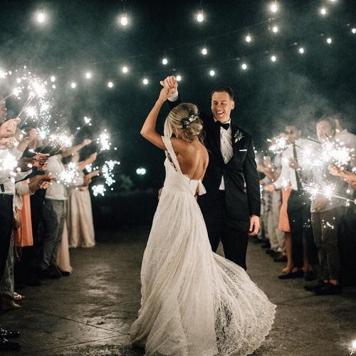 """Light up your night with some awesome """"send off"""" sparklers"""