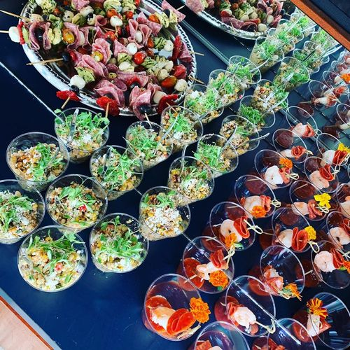Yacht catering!