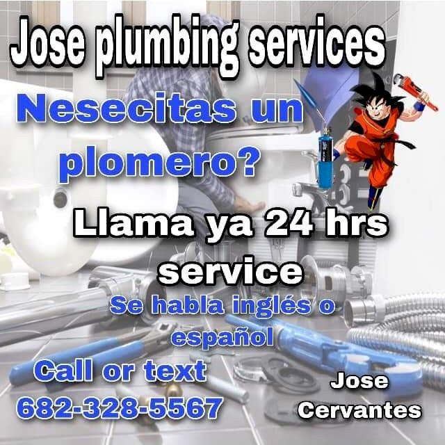 Jose Cervantes plumbing services