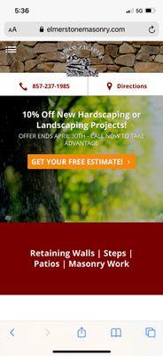 Avatar for Stone masonry & hardscape