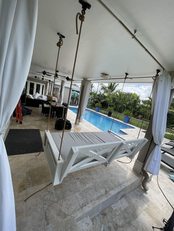 Porch Swing Install