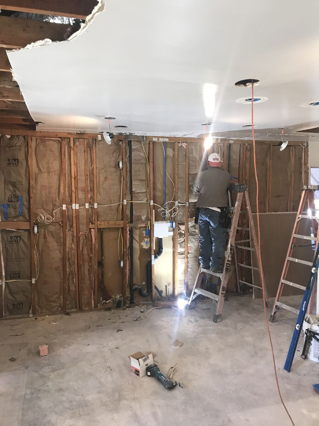 Kitchen and Master Bathroom Project