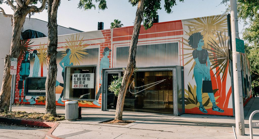 Nike store, Beverly Hills