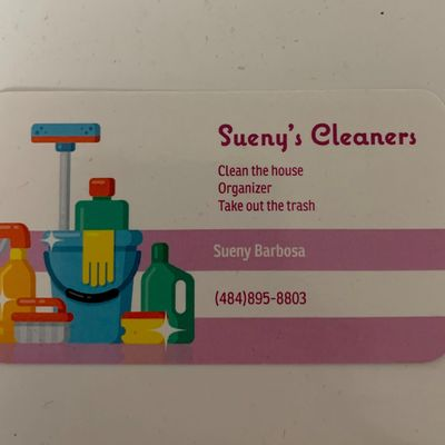 Avatar for Sueny's cleaners