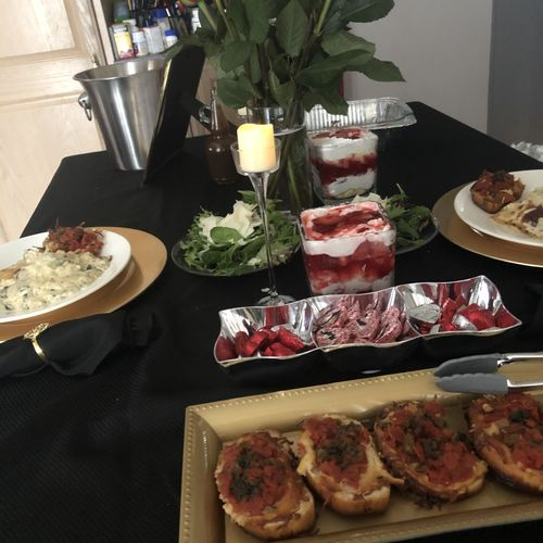 Intimate Catering