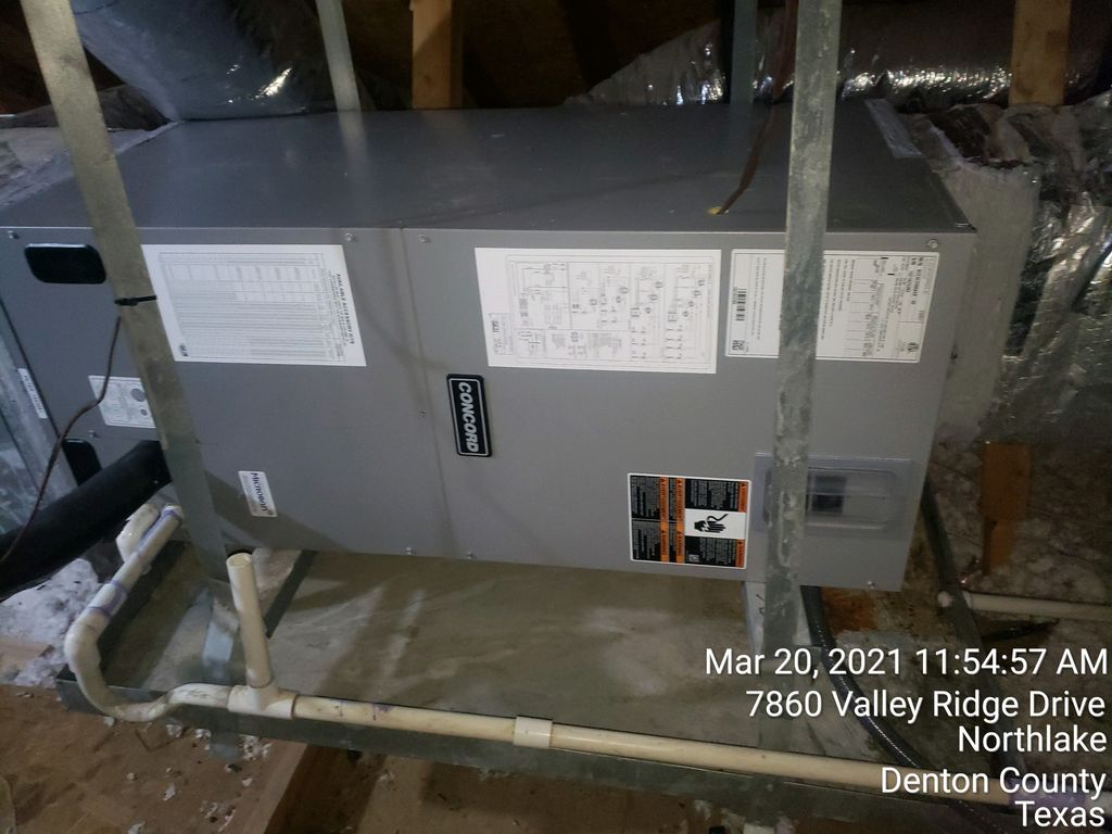 NEW AC INSTALLED 2 Systems