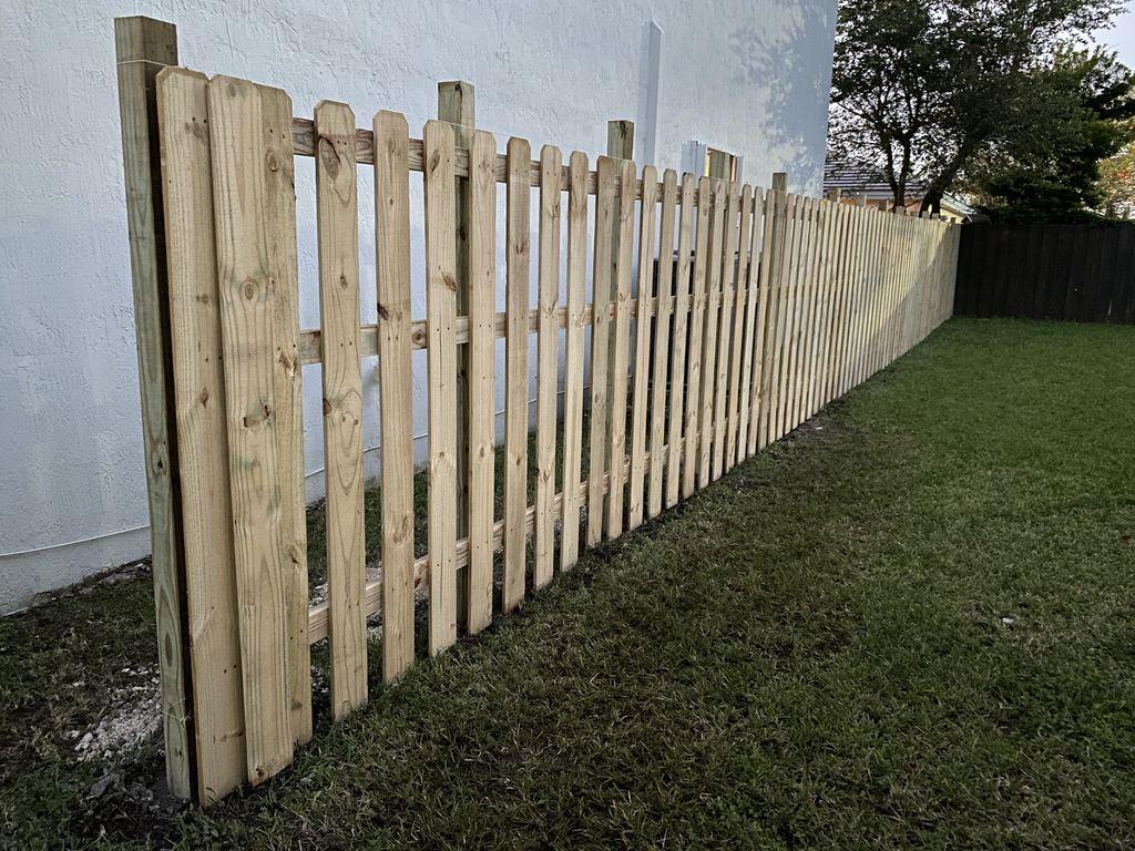 Fence addition