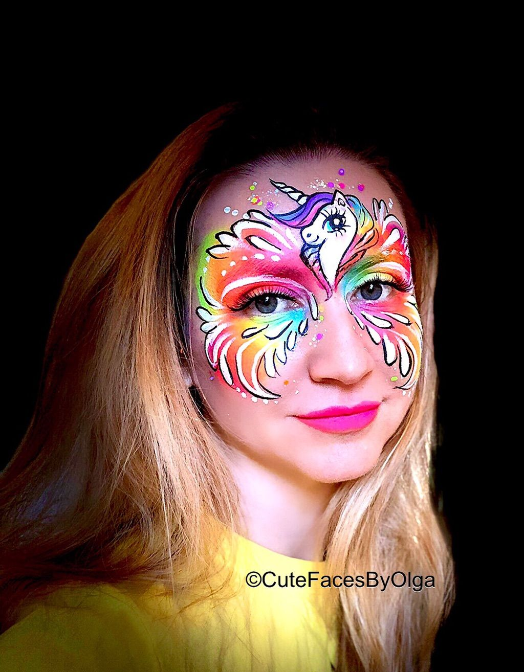 Cute Faces by Olga (Face Painting)