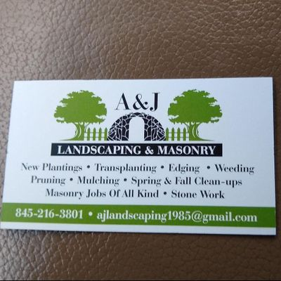 Avatar for A&J Landscaping and Masonry