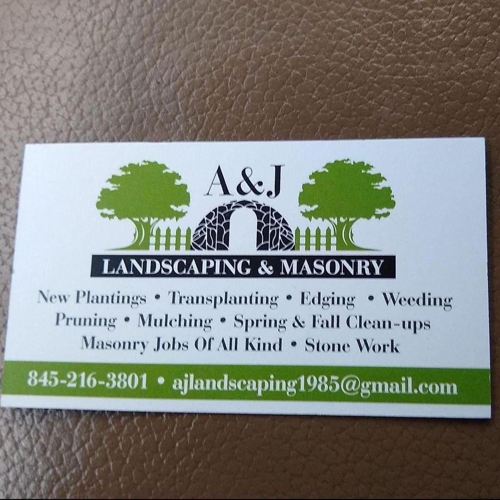 A&J Landscaping and Masonry