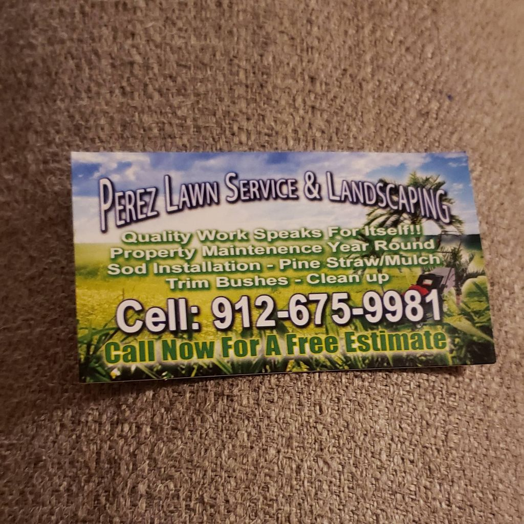 Pérez lawn service & landscaping
