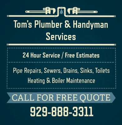 Avatar for Tom's Plumber and Handyman Services