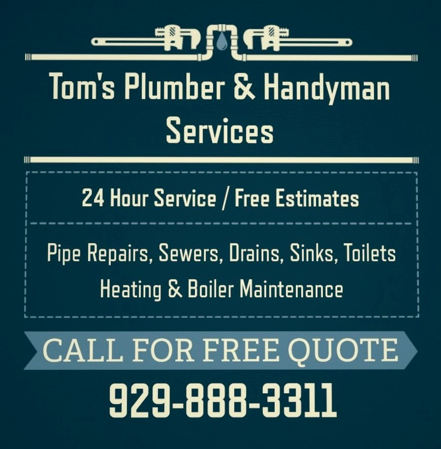 Tom's Plumber and Handyman Services