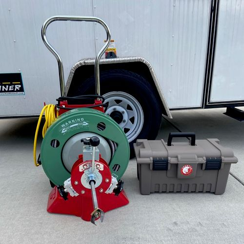 Spartan 300 Tool used for all Main Sewer Drain Clogs