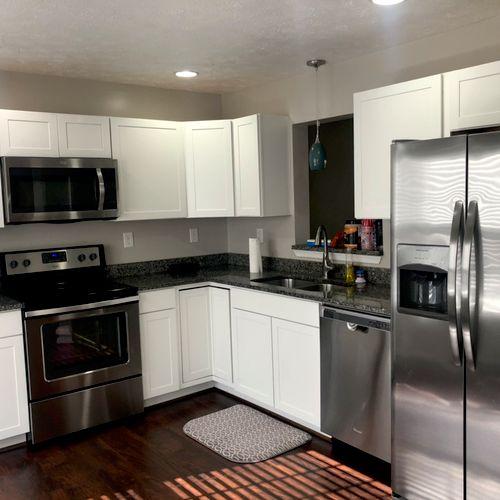 Spotless kitchens!😍😍😍