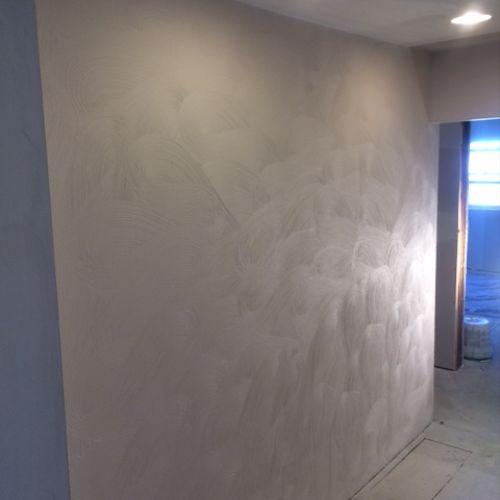 Brushed Swirl finish Plaster