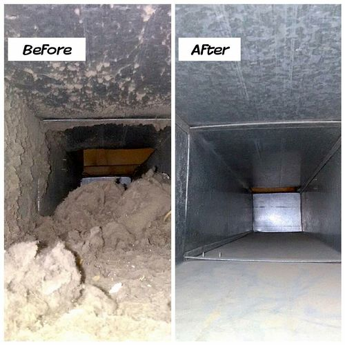 Air Duct cleaning over 14 years without maintenance