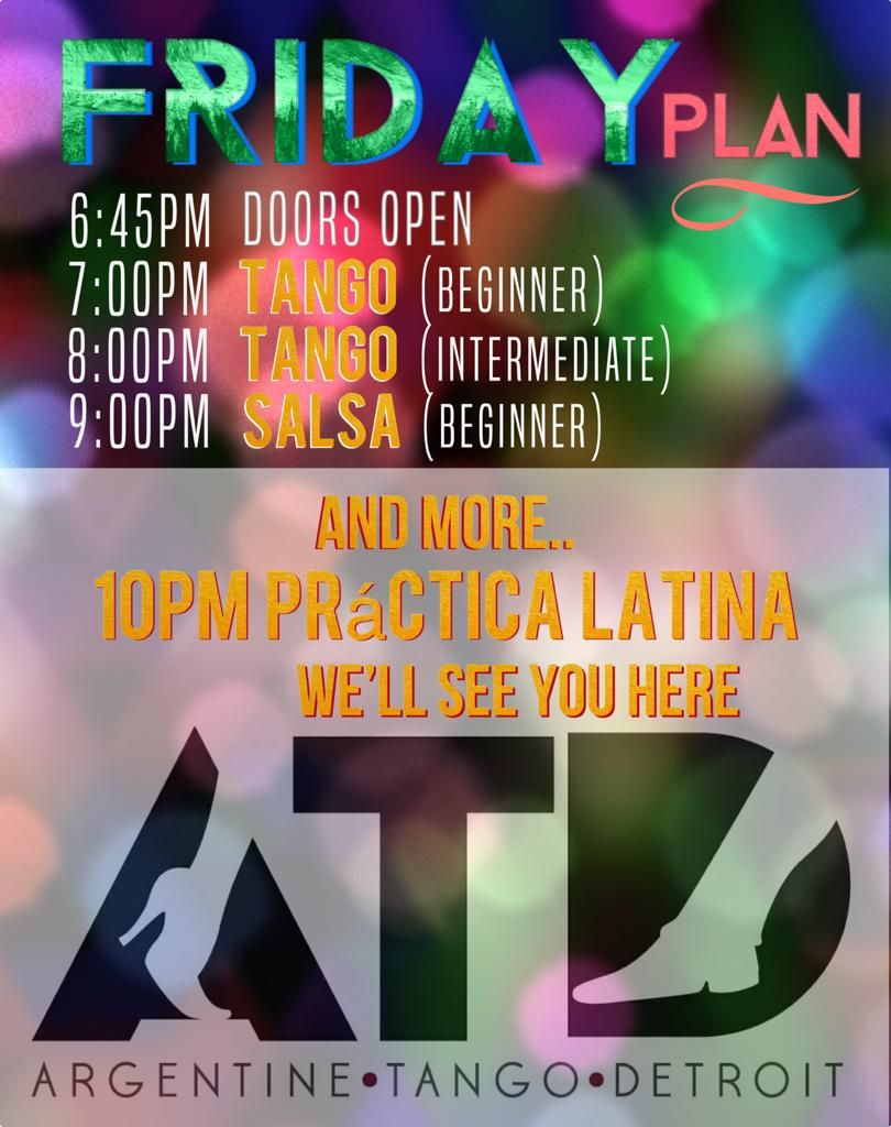 Tango & Latin Salsa Night Out
