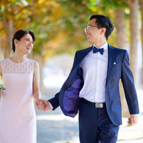 SFCH Wedding - Couples Portrait