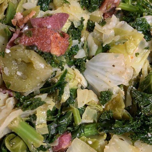 Kale & Cabbage medley