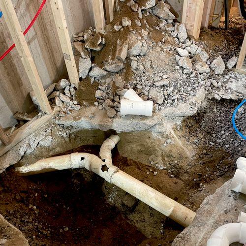 Adding a bathroom in the basement