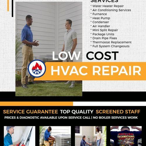 T.K Hvac services flyer/ brand