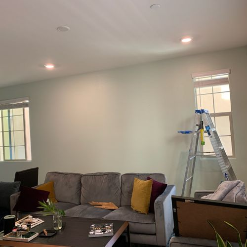 Accent Wall project 1