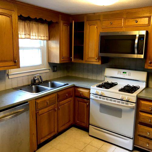 Full Kitchen remodel - Before