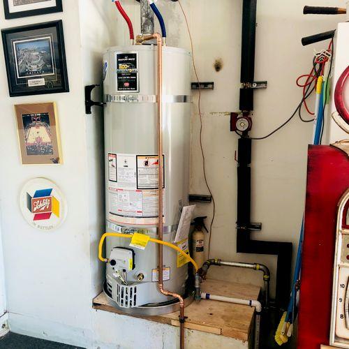 Water Heater & Recirculation Pump