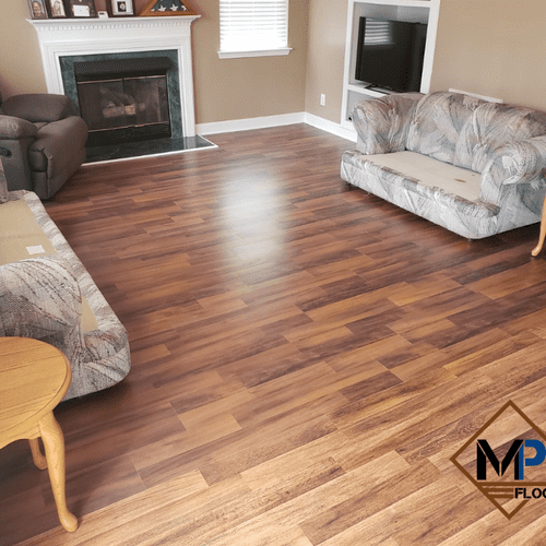 Laminate Installation for Living Room