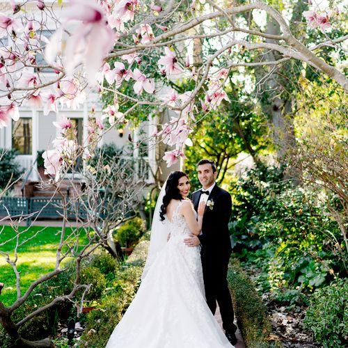Wedding at Gamble Gardens