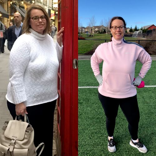Amy 50lbs down and still going!