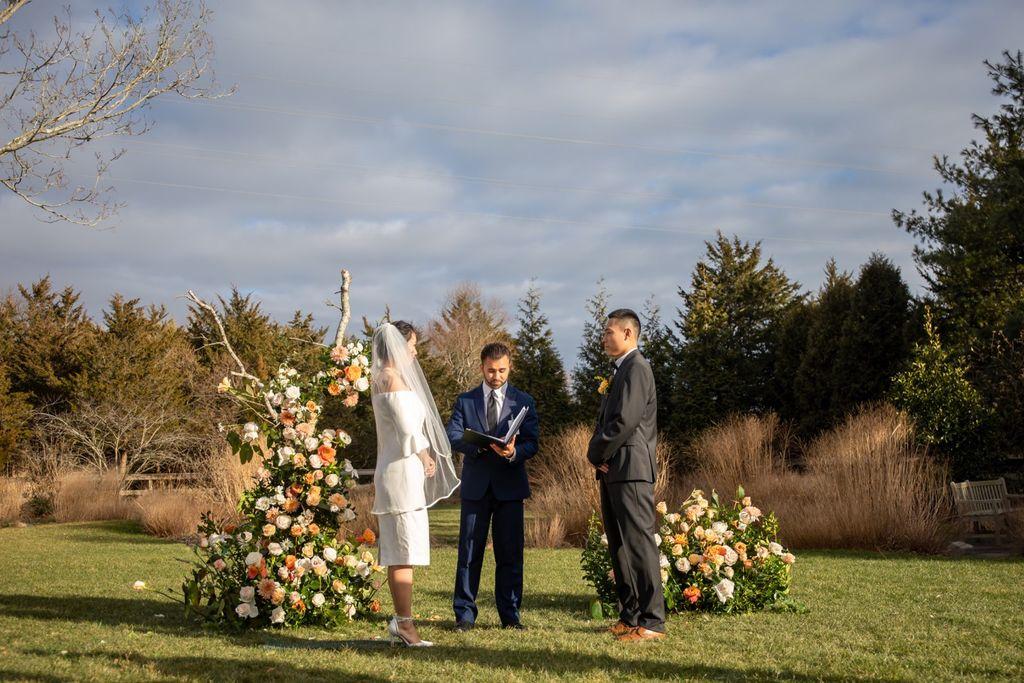 Hamptons Wedding Ceremony