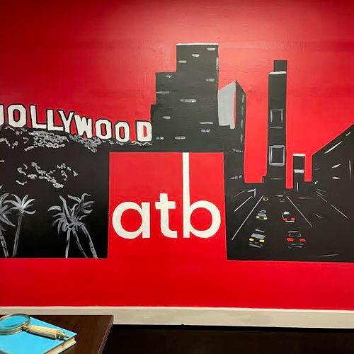 8x5 ft. Office Mural