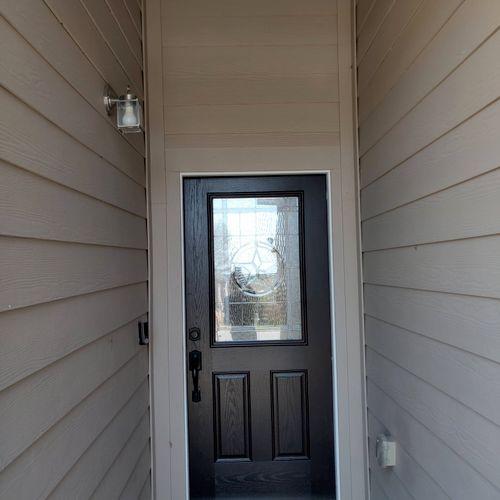 brand new door!