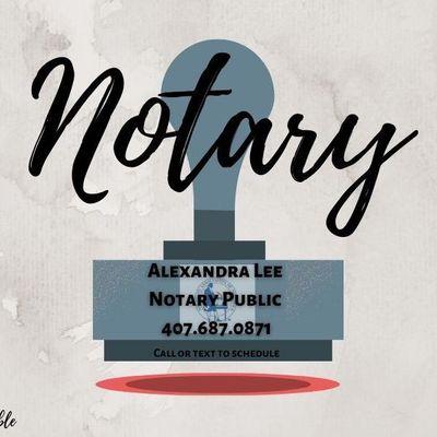 Avatar for Alexandra Lee Florida Notary
