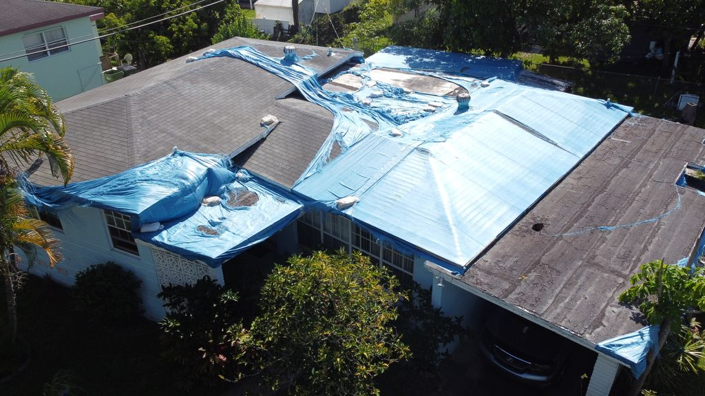 Shingle and Flat Re-Roofing