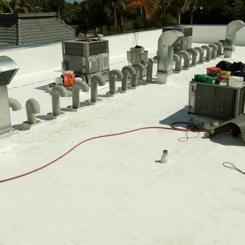 TPO ROOFING SYSTEM INSTALLED