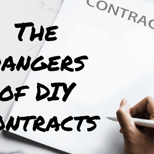 Don't get yourself in hot water! Let us handle your contracts for you!