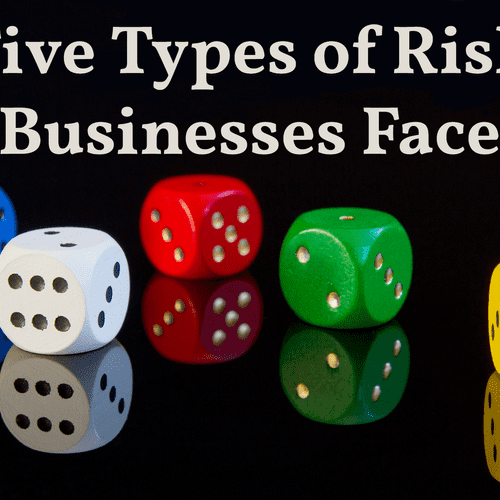 There are five types of risk businesses face. We can help you decrease them and protect your business.