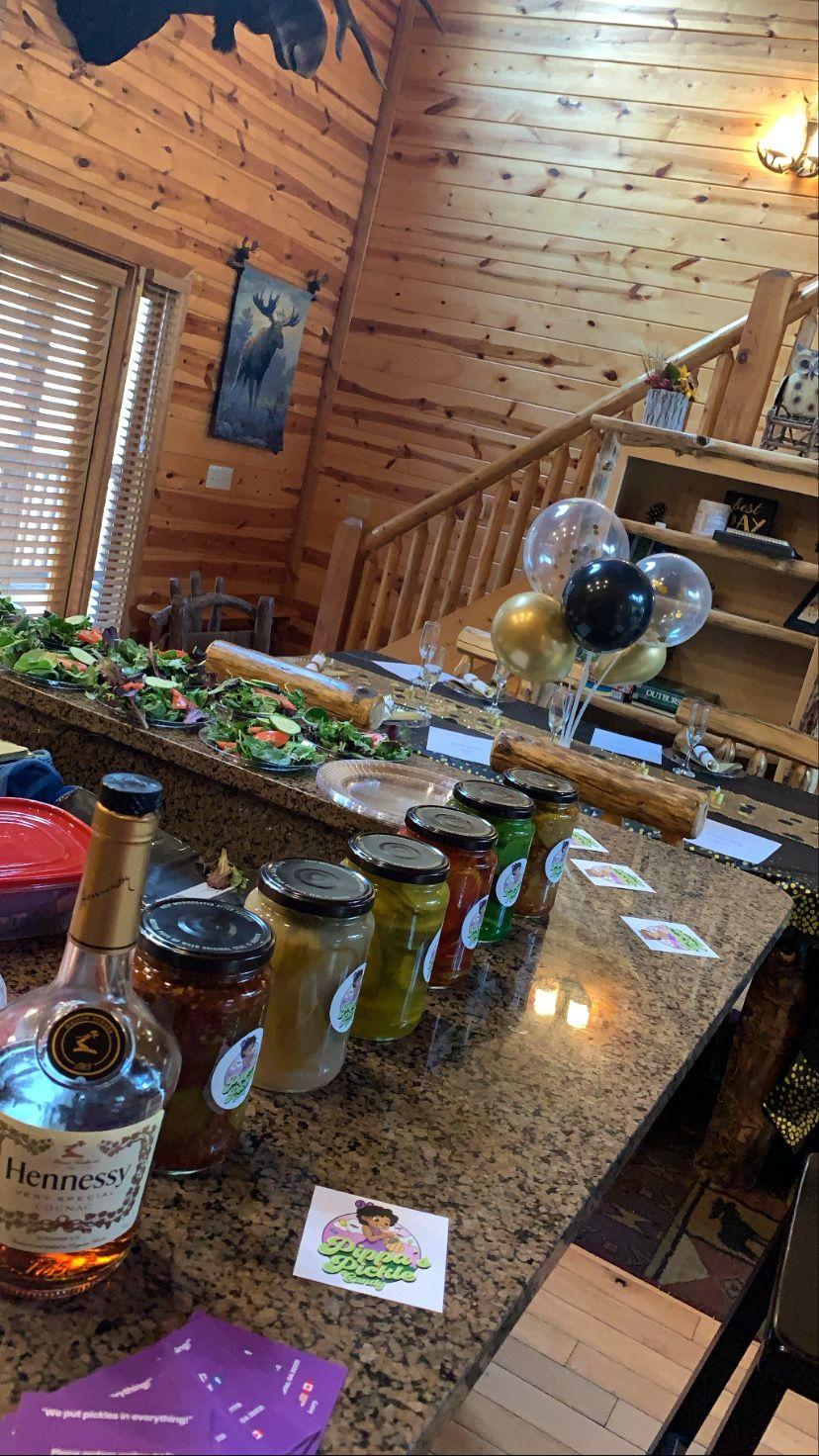 Birthday Dinner-Cabin Trip