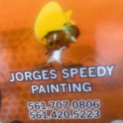 Avatar for Jorge's speeding painting