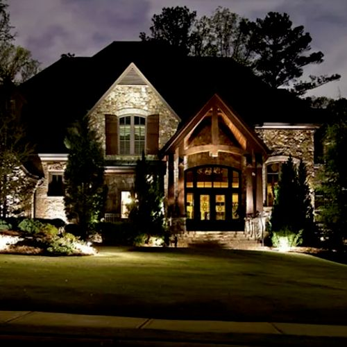 outdoor lighting.