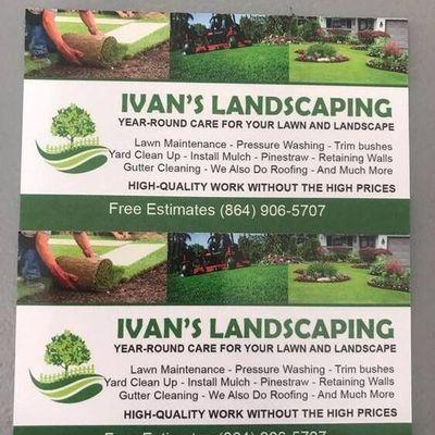 Avatar for Ivan's landscaping