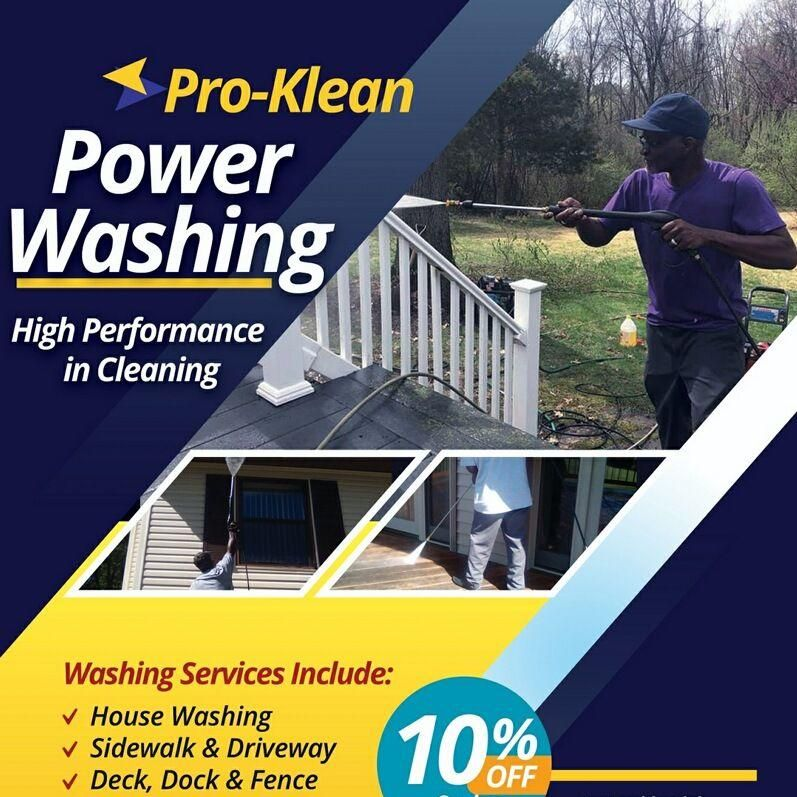 Pro-Klean Power Washing Services