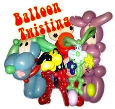 Balloon Twisting-Face Painting