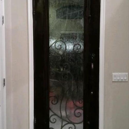 After Steel Door Replacement