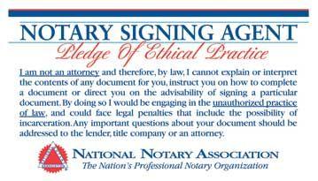 Pledge of Ethical Practice