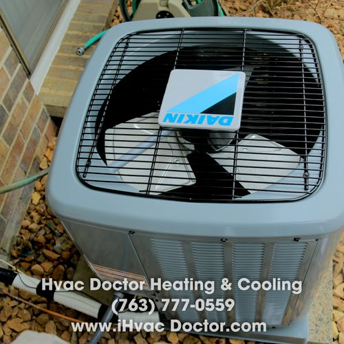 HVAC Doctor Heating & Cooling, 7637770559, iHvacDoctor.com furnace ac condenser new install replacement