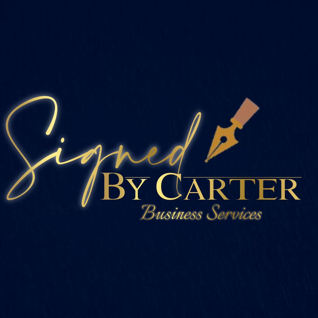 Signed By Carter Business Services